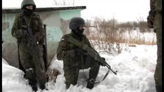 Strzelec zima  BRDM 2