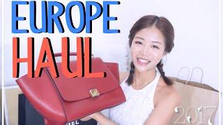 歐洲戰利品Unboxing&退稅分享(Celine, Chanel, Jimmy Choo..) 小A