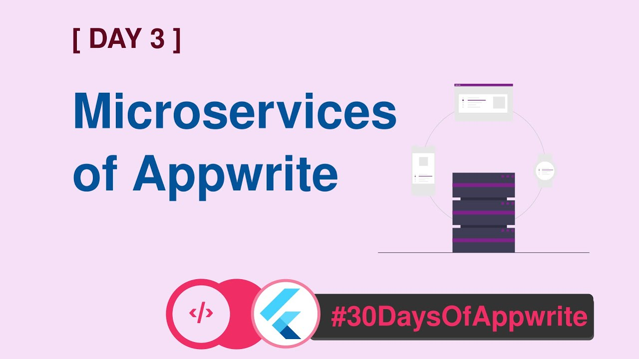 Microservices of Appwrite - Day 3 of #30DaysofAppwrite