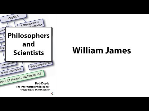 Philosophers and Scientists: William James