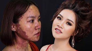 Trang Điểm Che Bớt Đỏ( English sub) / Hùng Việt Makeup
