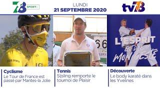 7/8 Sports. Emission du 21 septembre 2020