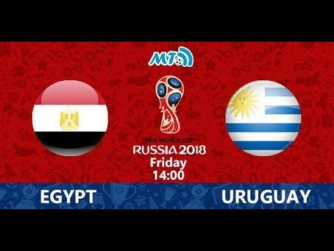 FIFA World Cup 2018 Egypt Vs Uraguay Simulation (FIFA 18) (Group Stage)