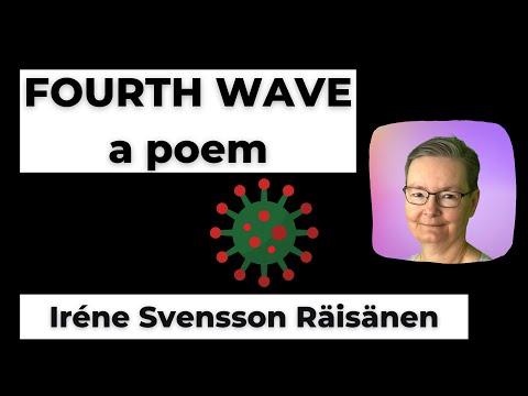 FOURTH WAVE a poem of the Swedish poet Iréne Svensson Räisänen #shorts