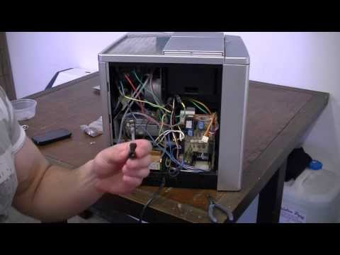 video how to fix jura impressa s9 one touch espresso machine. Black Bedroom Furniture Sets. Home Design Ideas