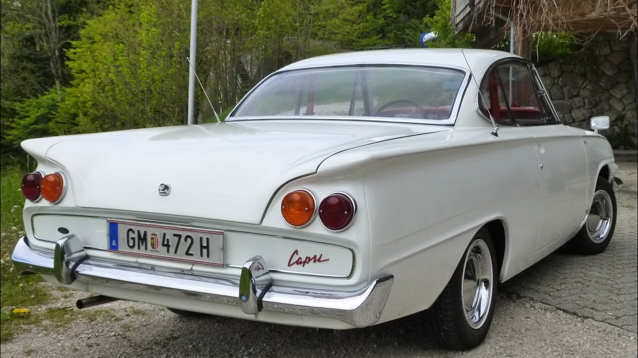 timelapse ford consul capri coup youtube. Black Bedroom Furniture Sets. Home Design Ideas