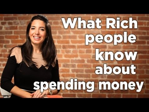 What Rich People Know About Spending Money