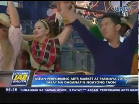 ASEAN Performing Arts Market at Pasinaya 2015 sabay na gaganapin