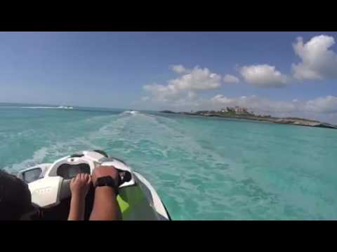 Jet ski on Turks and Caicos