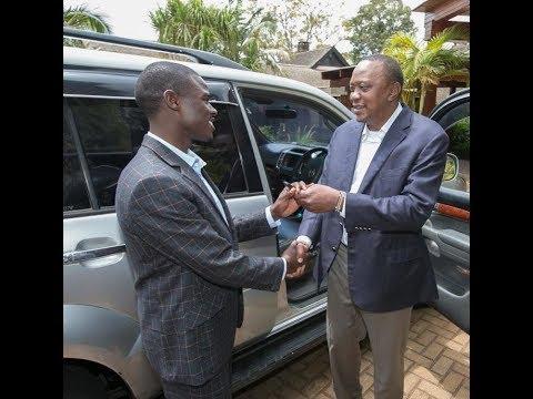 Global Tv Kenya : Mbunge barobaro wa Igembe Kusini apokea gari kutoka kwa Rais.