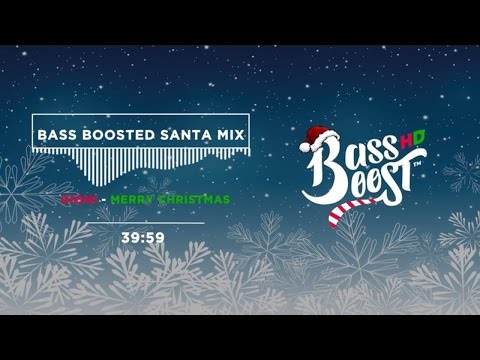 Bass Boosted Christmas Music Mix - Trap Santa 🎅