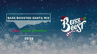 Bass Boosted Christmas Music Mix - Trap Santa