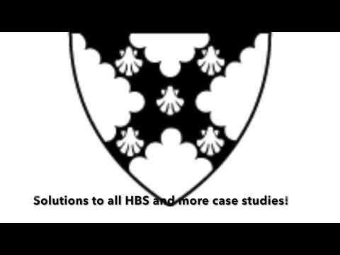 Harvard Business Case Study solutions  /  MBA case study solutions