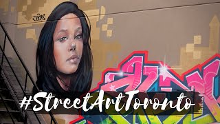 Street Art &amp Chill Out  Toronto Graffiti Alley 2020  Chill Your Mind