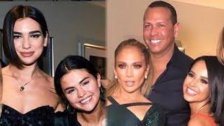 ¡Selena Gomez y Becky G Juntas en Concierto de Jennifer Lopez!