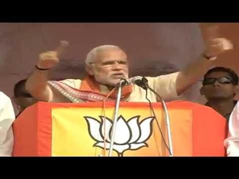 Shri Narendra Modi addresses rally in Khamgaon (Buldhana), Maharashtra: 07.10.2014