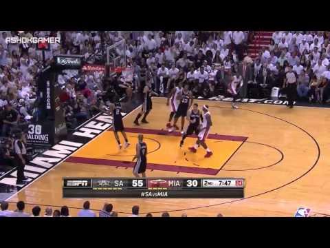 San Antonio Spurs vs Miami Heat   Game 3  June 10, 2014  Full Game Highlights  NBA Finals 2014