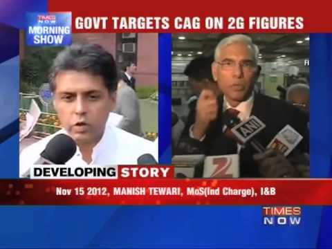Govt targets CAG on 2G figures