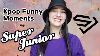 REACT | KPOP FUNNY MOMENTS - SUPER JUNIOR .