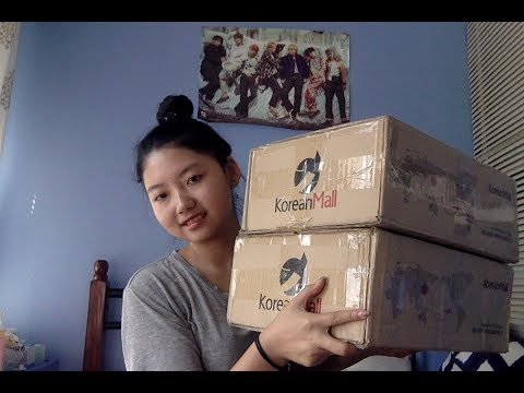 BTS 방탄소년단 - 2017 Summer Package Koreanmall Haul/unboxing