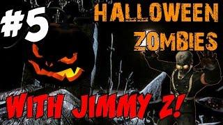"HALLOWEEN ZOMBIES SPECIAL with Jimmy Zielinski!!! [FINALE] ★ ""Halloween Town!"" (CoD Zombies)"