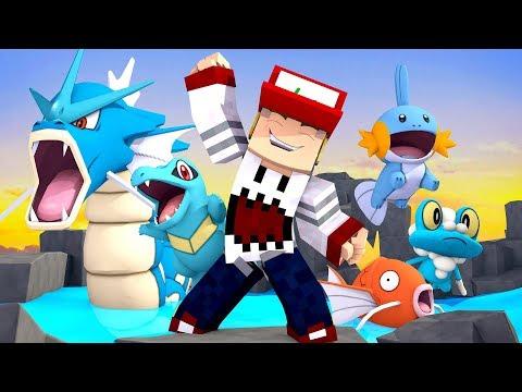 Minecraft: GINASIO DE AGUA - PIXELMON #18 PORTUGAPC