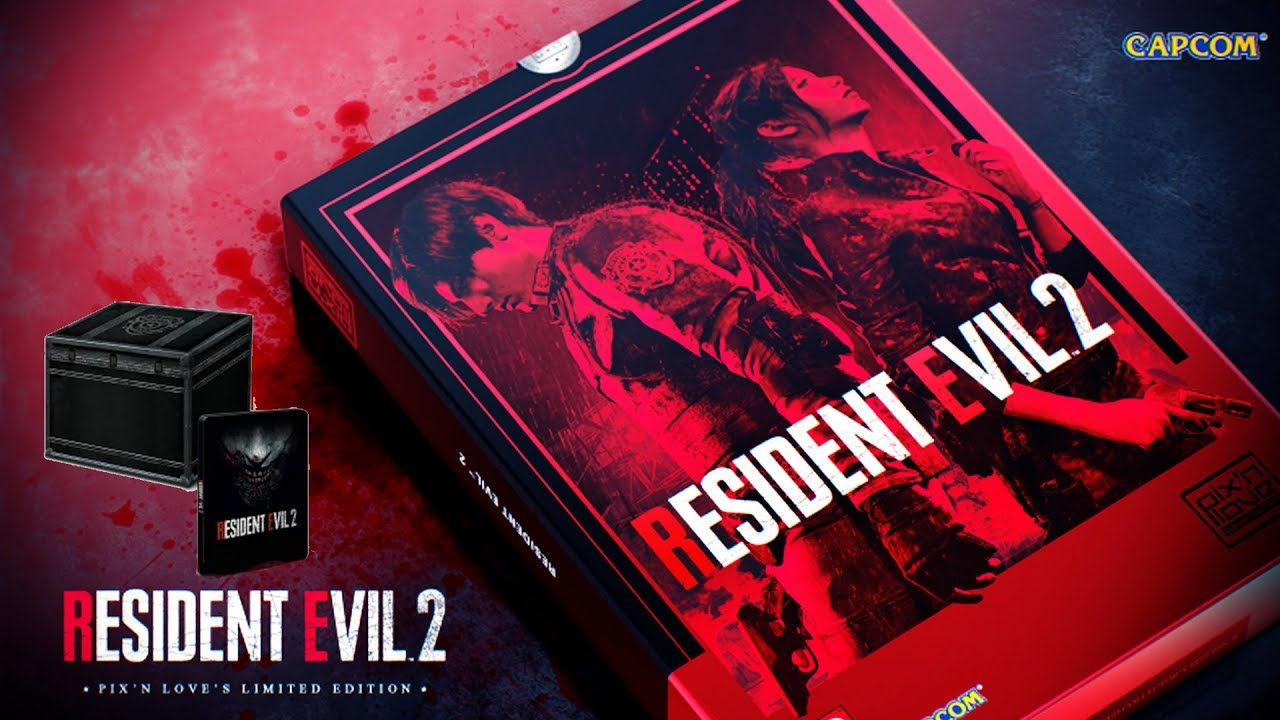 A Limited Resident Evil 2 Collectors Edition You Should PRE-ORDER now