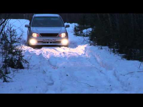 Toyota Vista Ardeo 3S-FE 4WD VS снег