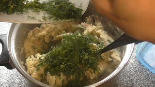 Картошка с грибами. Начинка для пирожков, пирогов и вареников