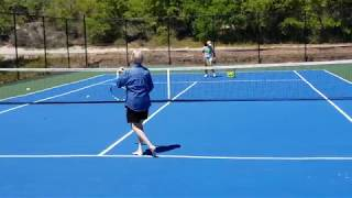 Grandma / Mimi Get's on the Tennis Court for the FIRST TIME IN 30 YEAR'S! Alabama. Grandmother Rocks