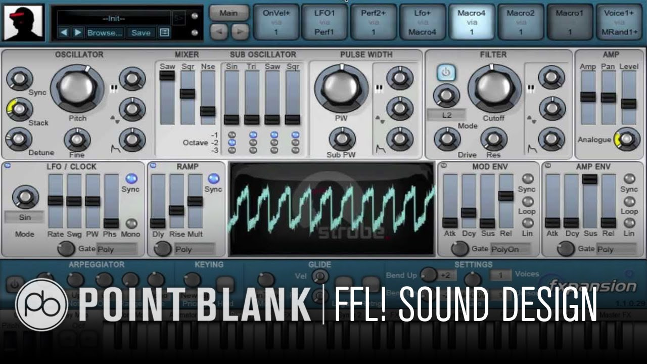4Pm Bst ffl! dcam synths - introduction to semi-modular sound design techniques -  09.08.13 - 4pm (bst)