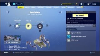 HE TRIED TO ME ARNAQUER! FORTNITE SAUVER THE WORLD Pve