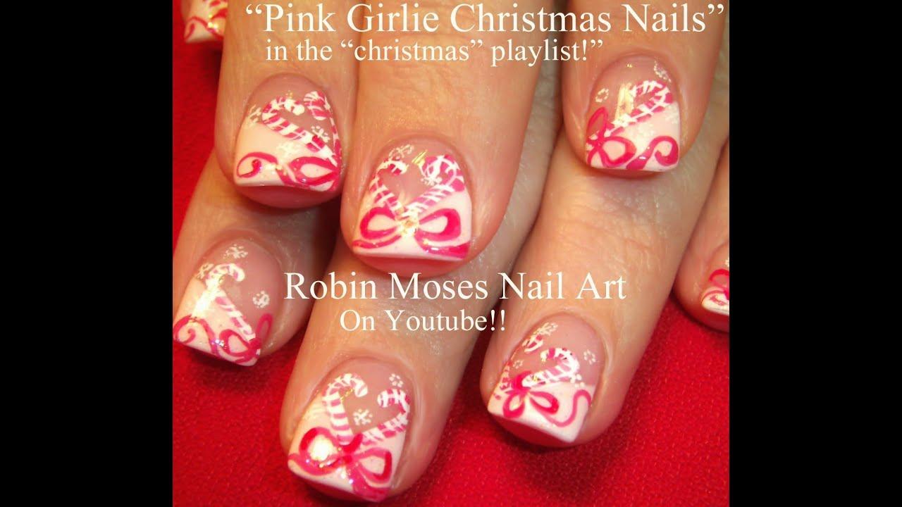 Christmas Nail Art Designs Youtube