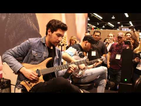 NAMM 2017: Plini & Aaron Marshall Live At The Dunlop Booth -Pt 1