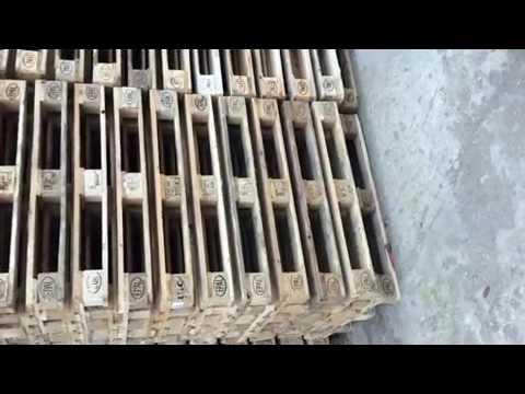 Мебель из поддонов (паллет) - YouTube