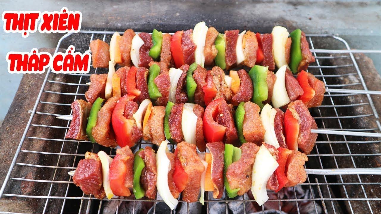 Làm Xiên Thịt Thập Cẩm Nướng ăn Chơi | Tuấn Nguyễn Food