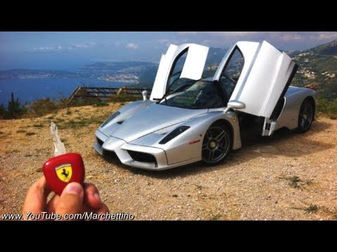 Ferrari Enzo in ACTION - Ride Powerslides Accelerations Revs!