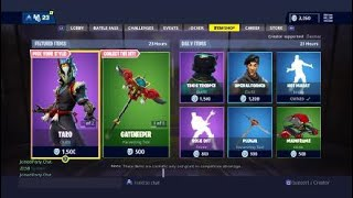 "NEW ""TARO & NARA"" SKINS Fortnite 