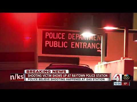 Gunshot victim shows up at Raytown Police Dept.