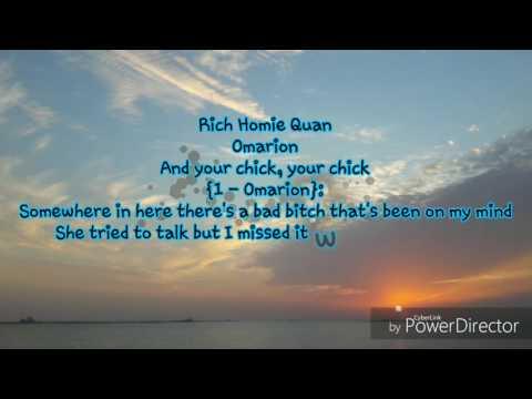 Im sayin omarion feat rich homie quan lyrics