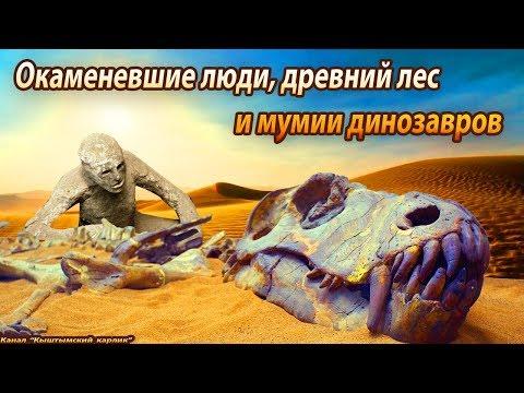 Окаменевшие люди, древний