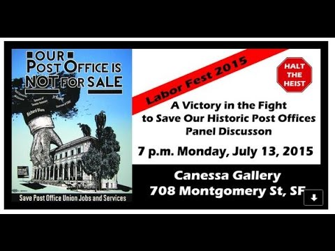 A Victory in the Fight to Save Our Historic Post Offices – Panel Discussion