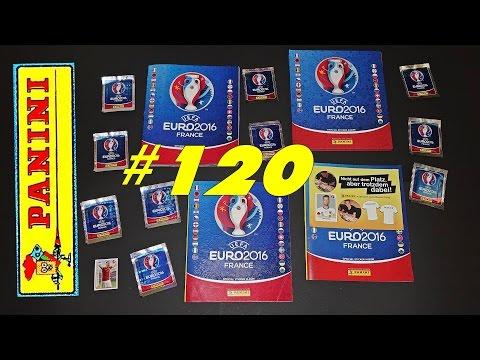 51 new PANINI Sticker UEFA FRANCE EURO 2016 PANINI Frankreich OFFICIAL video Lucky Bag ALBUM EM #120