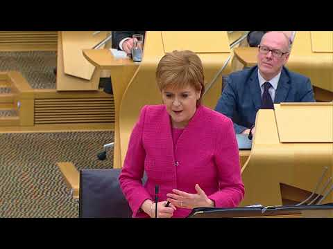 First Minister's Questions - 21 December 2017