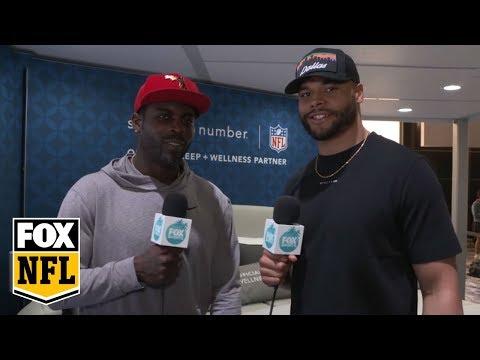 Dak Prescott tells Michael Vick the 7 toughest defensive players he's ever faced | QB7 | FOX NFL