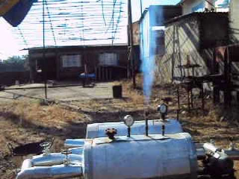 Steam generated by Solar Dish