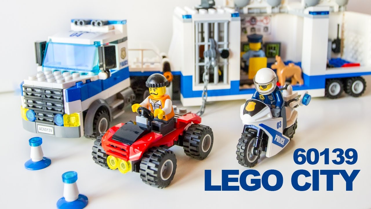 Camion Polizia Lego City Poliziotti 60139 - ITA