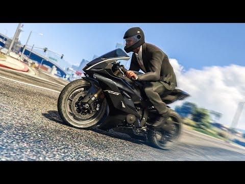 AMAZING MOTORBIKE STUNT!  GTA 5 Stunts & Fails