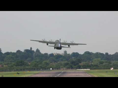 Hercules RAF Northolt takeoff