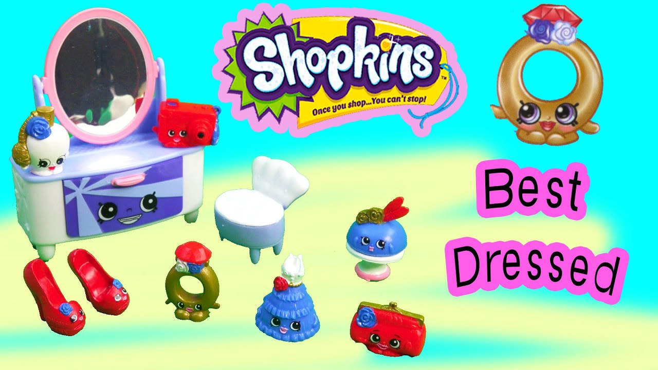 Shopkins Season 3 Playset Best Dressed Collection Fashi